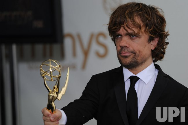 Peter Dinklage wins at the Primetime Emmy Awards in Los Angeles