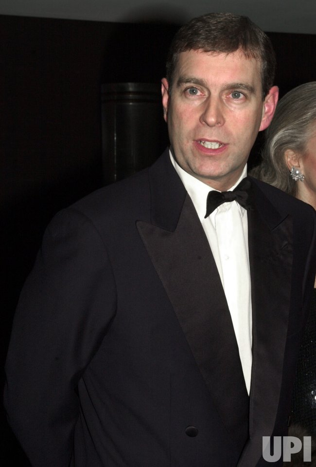 PRINCE ANDREW ATTENDS NEW YORK GALA