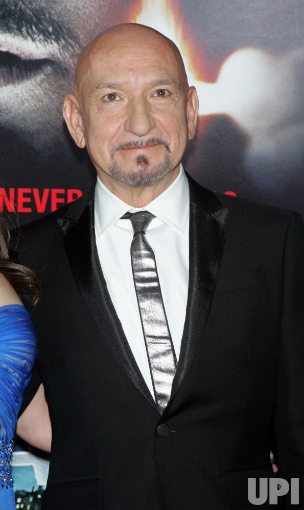 """Sir Ben Kingsley arrives for the Premiere of """"Shutter Island"""" in New York"""
