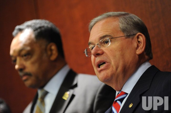 Sen. Robert Menendez (D-NJ) speaks on the POWER Act in Washington