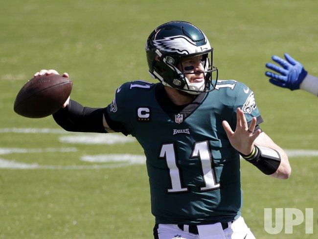 Philadelphia Eagles vs Los Angeles Rams in Philadelphia