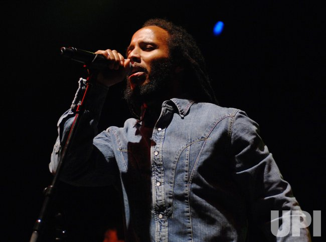 ZIGGY MARLEY PERFORMS IN LONDON