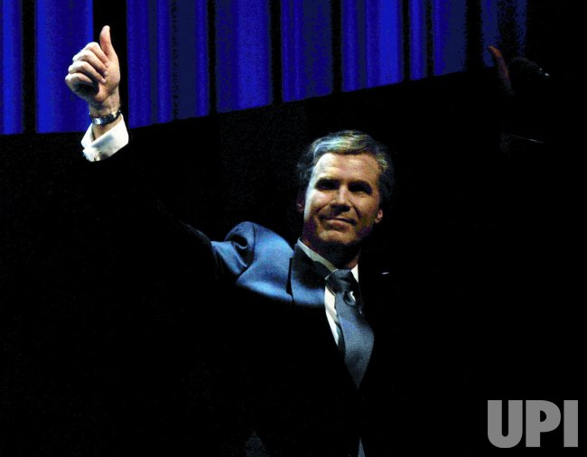 Will Ferrell imitates President G.W.Bush on Broadway
