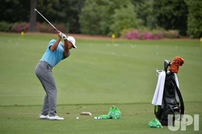 Practice Round prior to the 2015 Masters in Augusta, Georgia