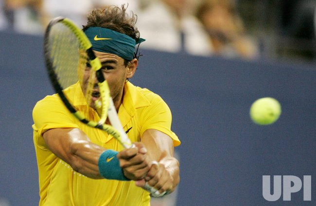 Nadal takes on Kiefer in second round action at the US Open tennis in New York