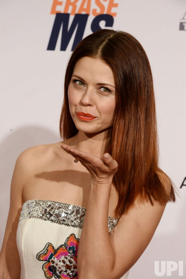 Anna Trebunskaya attends the 23rd annual Race to Erase MS gala in Beverly Hills