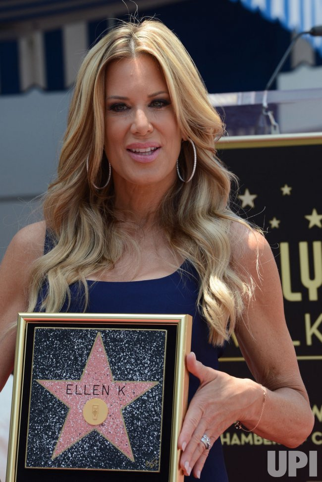 ellen k receives a star on the hollywood walk of fame in