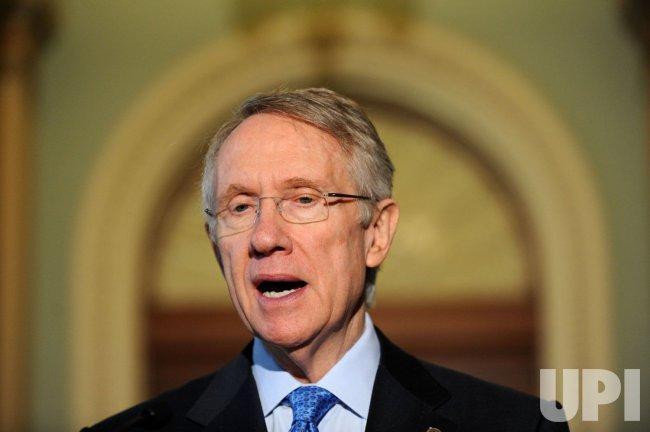 Senate leadership speaks on Burris appointment in Washington