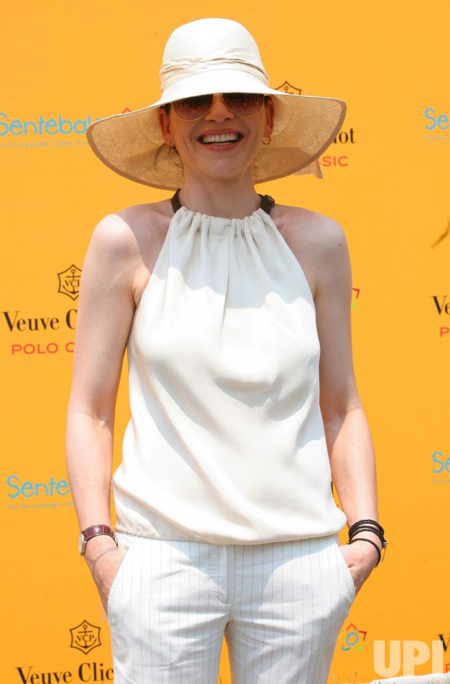 Julianna Margulies attends the Veuve Clicquot Polo Classic match in New York