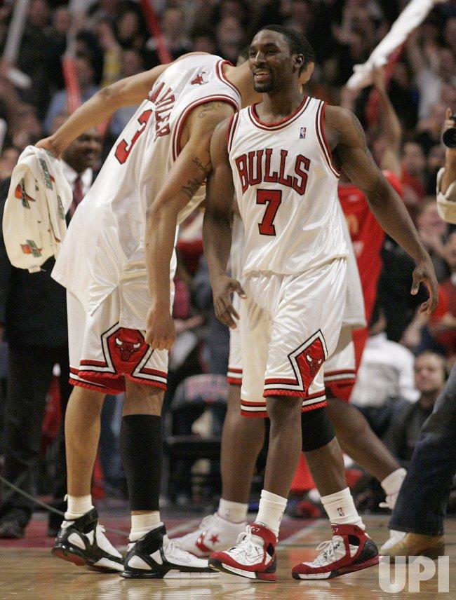 NBA NEW YORK KNICKS VS CHICAGO BULLS