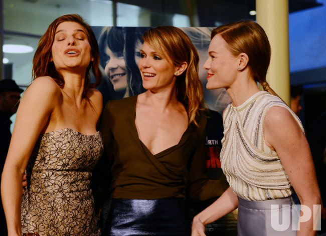 """Lake Bell, Katie Aselton and Kate Bosworth attend the """"Black Rock"""" premiere in Los Angeles"""