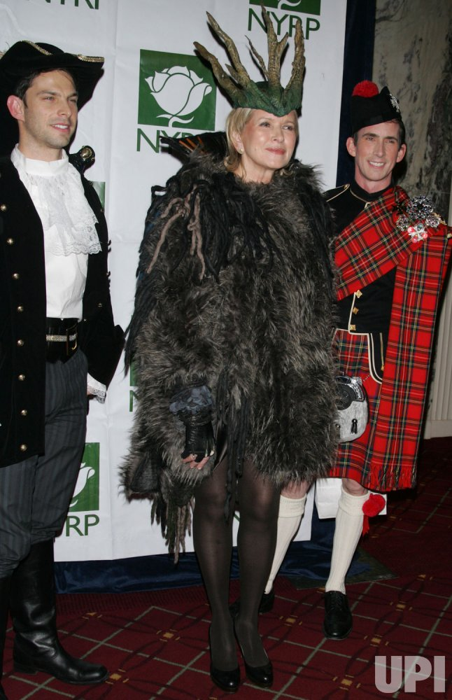 Martha Stewart arrives at the Hulaween Benefit Gala in New York