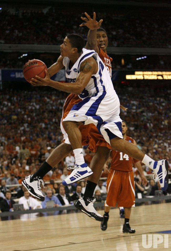 NCAA Men's Basketball Championship Texas vs. Memphis