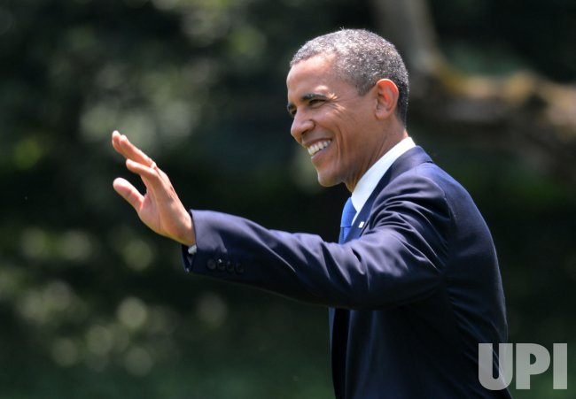 Barack Obama Leaves to Walter Reed Medical Center