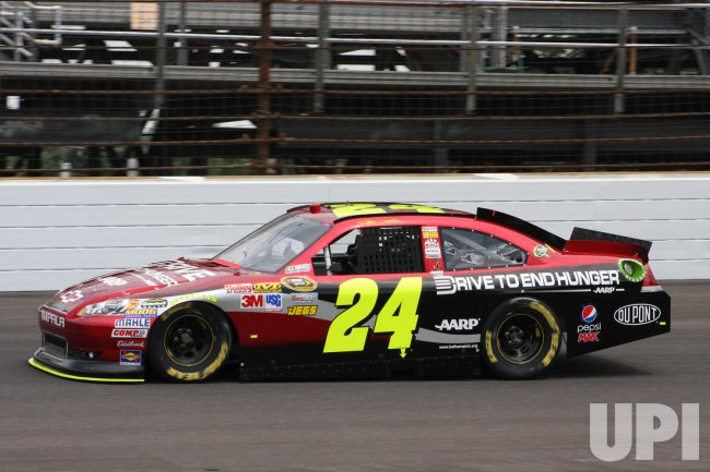 Jeff Gordon Going for 5th win in the Brickyard 400 in Indianapolis, Indiana.