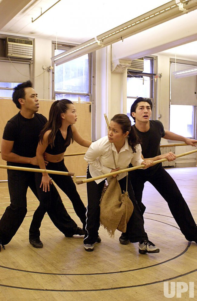 """Lea Salonga rehearses in new musical version of """"Flower Drum Song"""""""