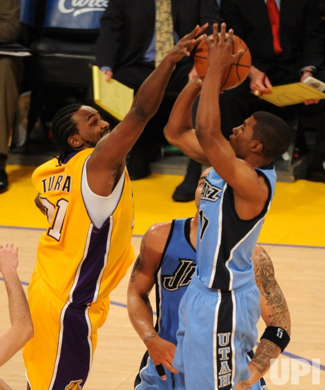 Los Angeles Lakers vs Utah Jazz Game 5 Western Conference semifinals in Los Angeles