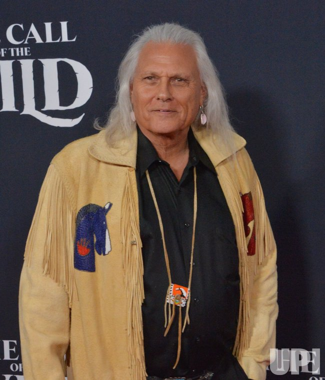 """Michael Horse attends """"The Call of the Wild"""" premiere in Los Angeles"""