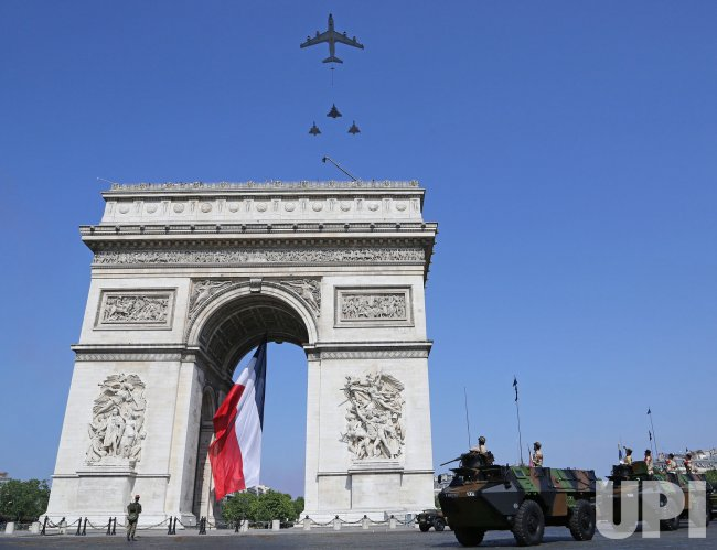 Bastille Day military parade in Paris