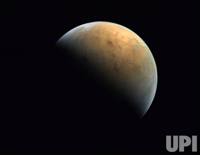 The UAE Space Agency Releases Hope Probe Photo of Mars