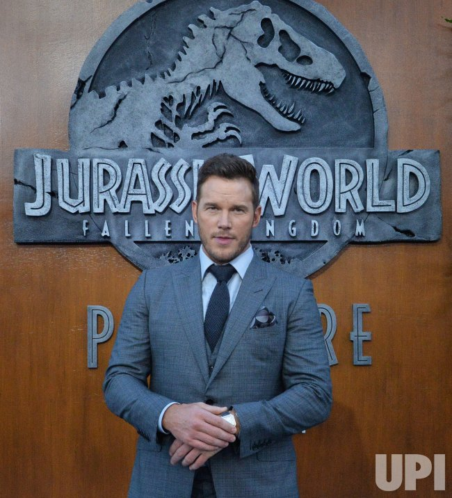 "Chris Pratt attends the ""Jurassic World: Fallen Kingdom"" premiere in Los Angeles"