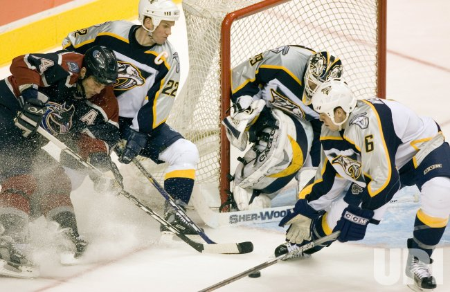 VISITING NASHVILLE PREDATORS 3-2 OVER VANCOUVER CANUCKS