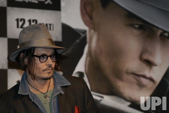 "Johnny Depp promotes ""Public Enemies"" in Japan"