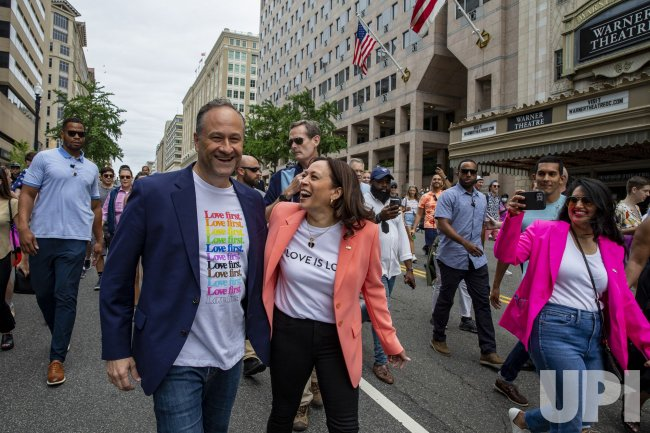 Vice President Kamala Harris attends Capital Pride Celebration