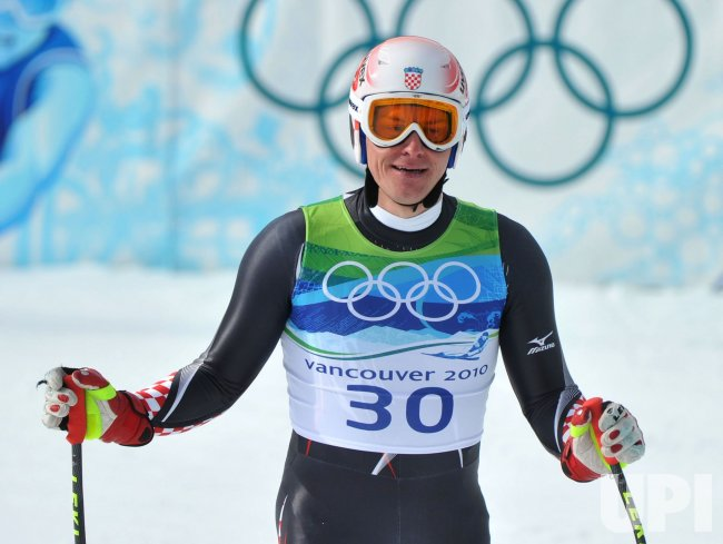 Croatia's Ivica Kostelic competes in the Men's Downhill in Whistler
