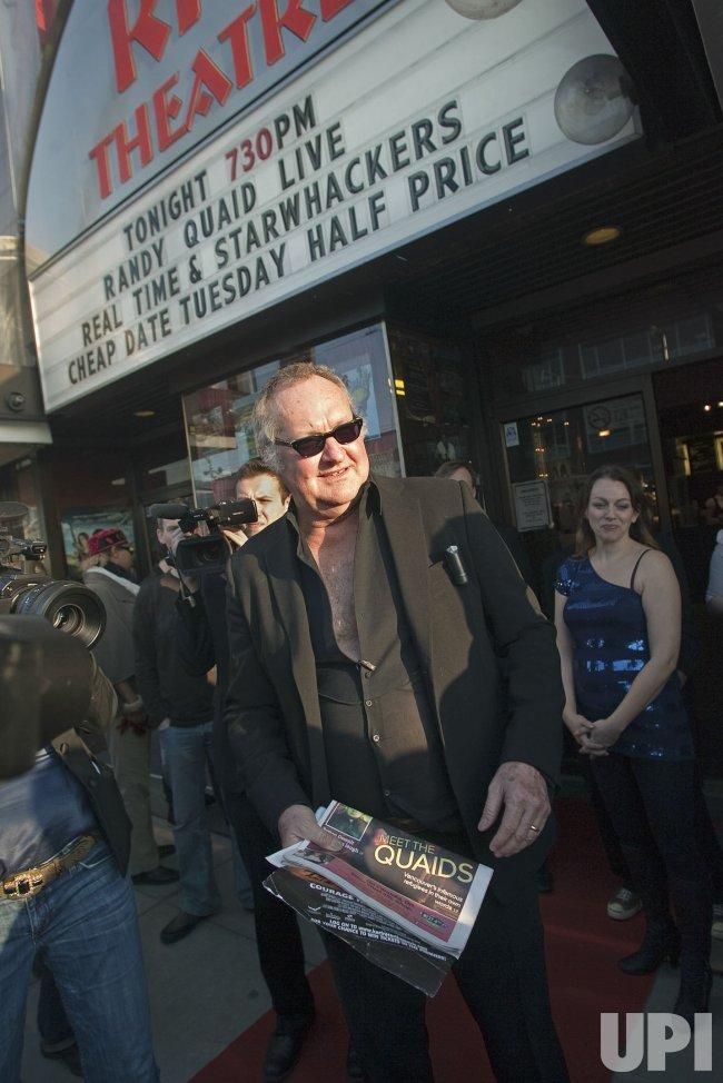 "Randy and Evi Quaid bring Evi's bizzare docu-drama ""Star Whackers"" to Vancouver's Rio Theater"