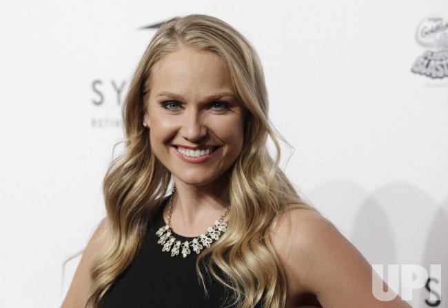 Heidi Watney arrives at SI Sportsperson of the Year