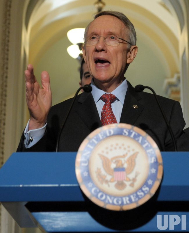 Reid, Pelosi discuss Iraq war in Washington