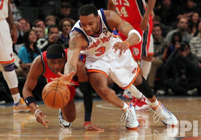 the latest 8c839 e0b05 New Jersey Nets Keyon Dooling New York Knicks Tracy McGrady ...