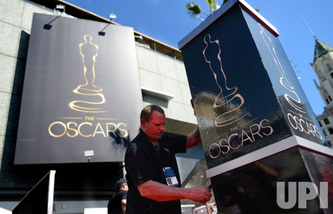 Preparations continue for the 85th Academy Awards in Hollywood
