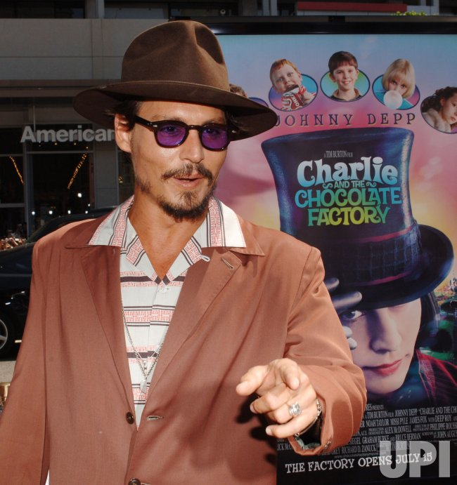 """CHARLIE AND THE CHOCOLATE FACTORY"" PREMIERE"