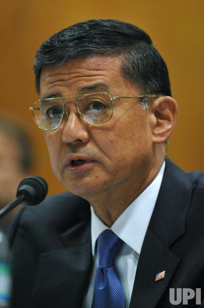 VA Secretary Shinseki testifies in Washington