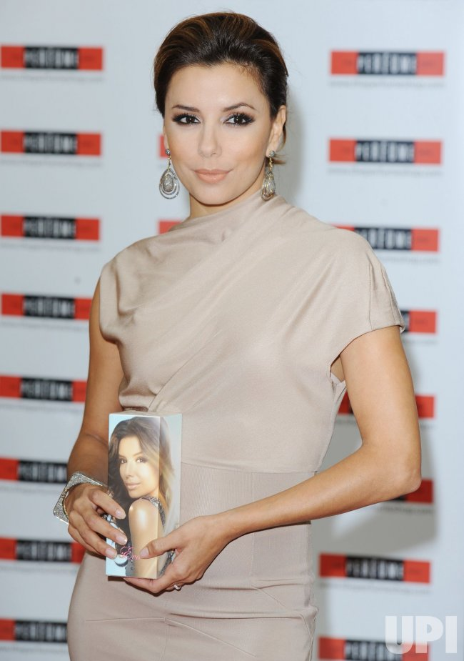 Eva Longoria Parker attends a perfume signing
