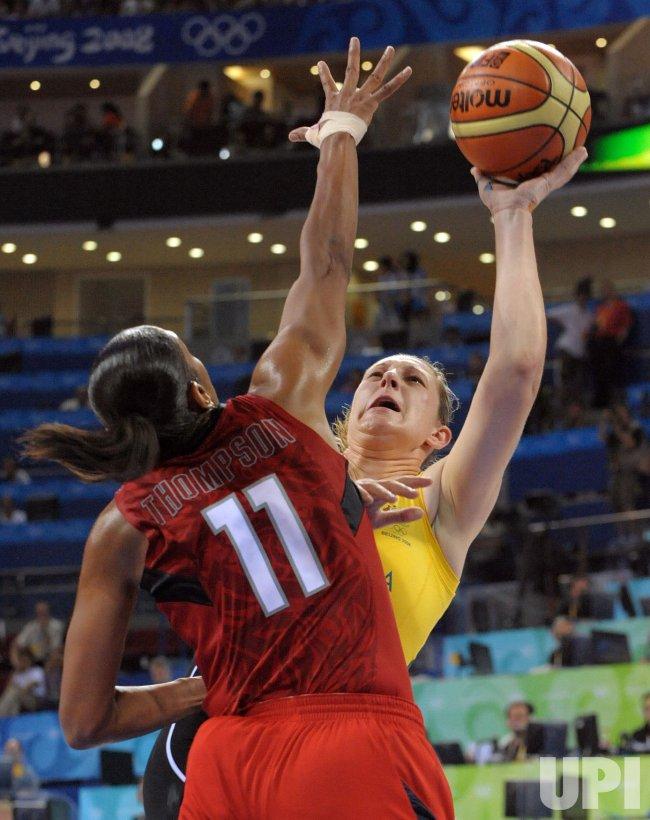Australia vs. USA Women's Basketball Final at 2008 Summer Olympics in Beijing