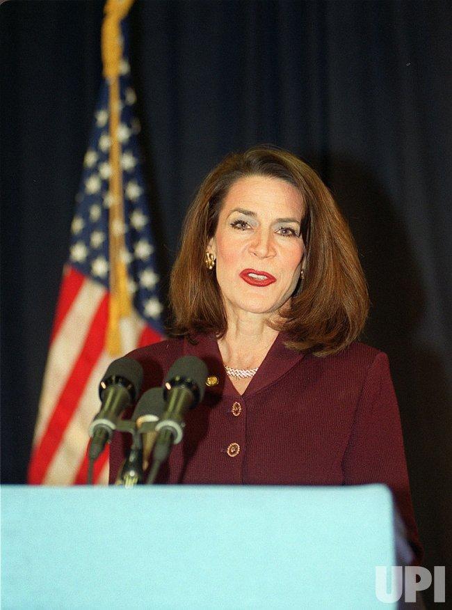 Florida Secretary of State Katherine Harris. Harris