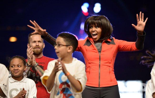 Michelle Obama Announces Anti-Obesity Initiative in Chicago