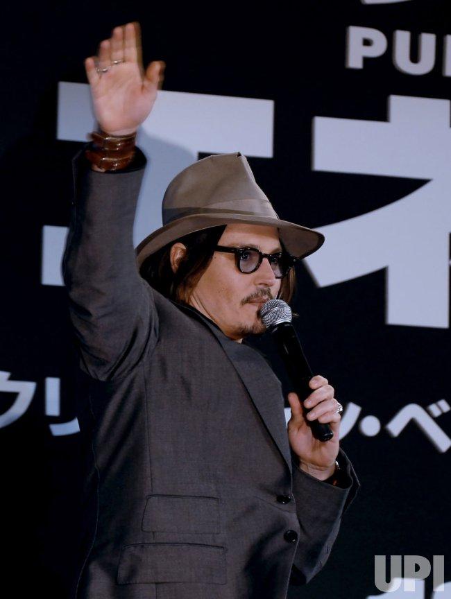 """""""Public enemies"""" Japan premiere"""