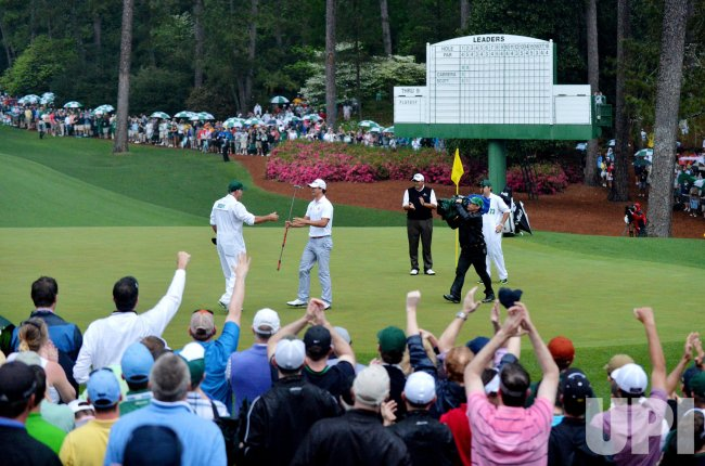 Adam Scott wins 2013 Masters in Augusta, Georgia