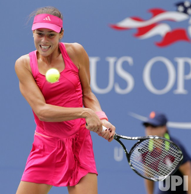 Ana Ivanovic at the U.S. Open Tennis Championships in New York