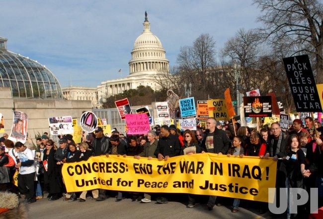 MASSIVE PEACE MARCH IN WASHINGTON