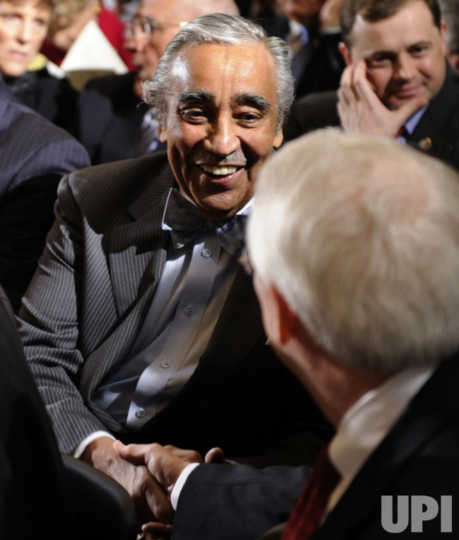Rep. Charles Rangel attends event in US Capitol
