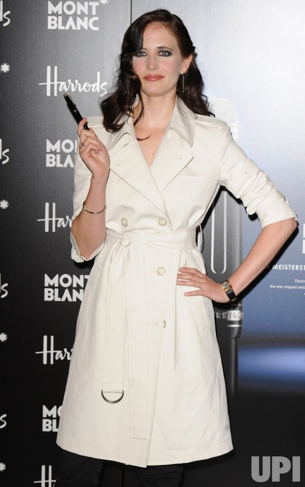 Eva Green attends Montblanc photocall