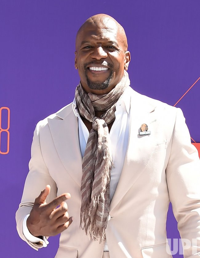 Terry Crews attends the 18th annual BET Awards in Los Angeles