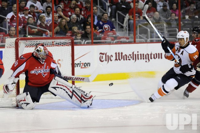 New York Islanders goal against Theodore in Washington, DC