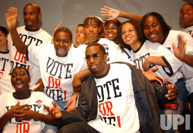 SEAN COMBS LAUNCHES NATIONAL VOTER MOBILIZATION PROGRAM