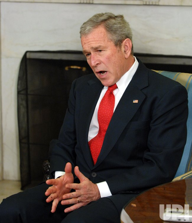 Bush meets with Republican leaders at White House